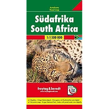Südafrika. Autokarte 1:1.500.000: Wegenkaart 1:1 500 000 / 1:400 000