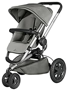 quinny buzz xtra pushchair grey gravel silver frame baby. Black Bedroom Furniture Sets. Home Design Ideas