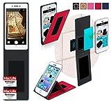 reboon Hülle für Oppo Neo 7 Tasche Cover Case Bumper | Rot | Testsieger