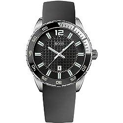 Hugo Boss Gents Watch Analogue Quartz 1512885 Silicone
