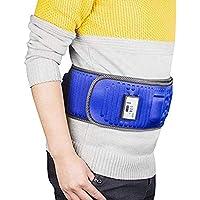 SGLL Deep Tejido 3D Amasar Almohada Masajeador Eléctrico Vibrar Adelgazante Cinturón Masajeador para Cuello, Espalda, Hombros, Pie, Piernas