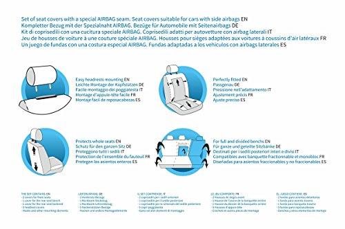 5902538731768 Similpelle Mossa CM-B Universale Set coprisedili Auto