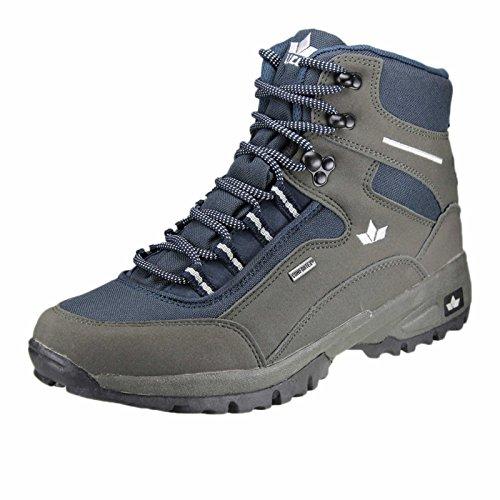 Lico Lugano High, Chaussures de Randonnée Hautes Homme Bleu (Marine/grau)
