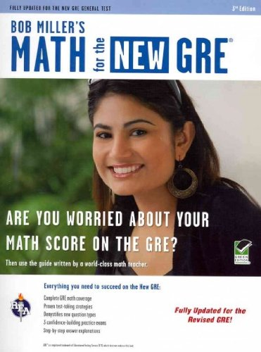 (New GRE, Miller's Math (Rea)) By Miller, Bob (Author) Paperback on (09 , 2011)
