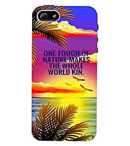 PRINTVISA Quotes Nature Case Cover for Apple iPhone 4S