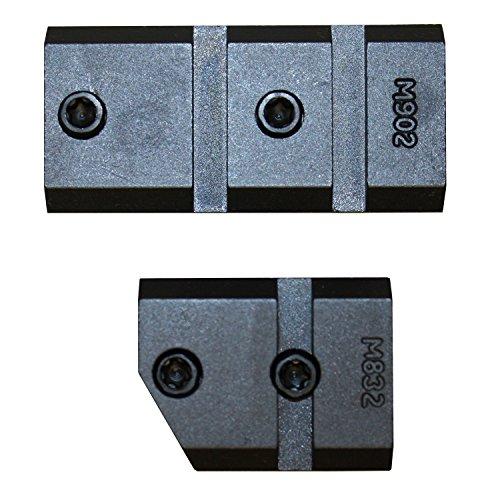 Warne m902/832m Zwei Stücke Boden Mauser 98MATT