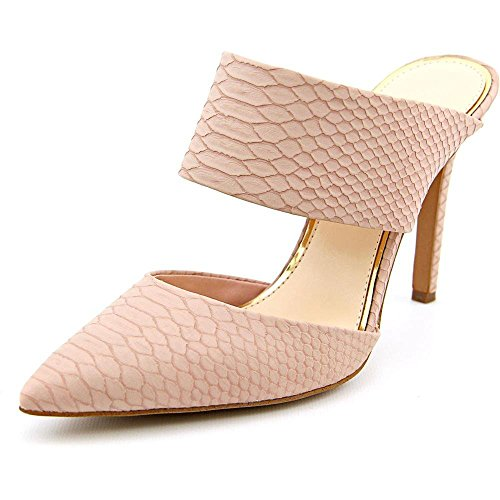 uBeauty Damen Stiletto Slingback Spangen Übergröße Pumps Spitze Zehen Slip On Sandalen Neue Sexy Schuhe Pink Schlangenhaut