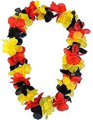 5 x Hawaiikette Deutschland 120 cm extra große Blüten