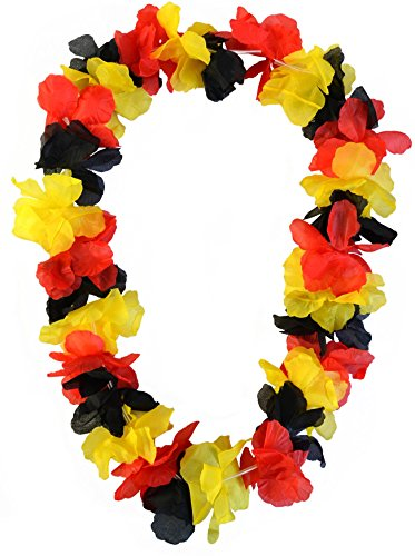 normani Hawaiikette Blumenkette Deutschland Hawaiiketten 100 cm Farbe 5 - Für Halskette Männer Hawaii