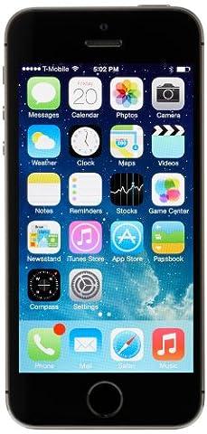 Apple iPhone 5S Smartphone débloqué 16GB Gris Sidéral - [Version Europe]