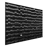 Bilderwelten Aluminium Print - Way of Life - Quer 2:3, Größe HxB: 40cm x 60cm