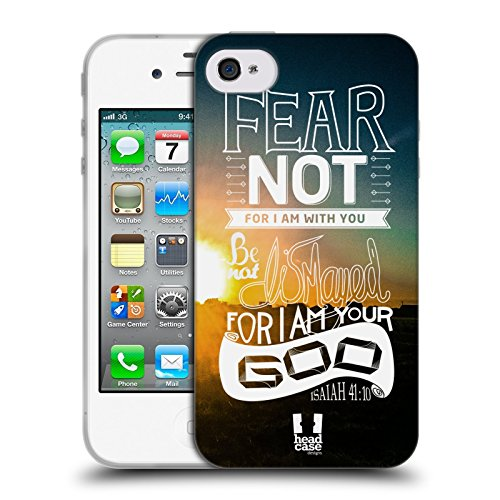 Head Case Designs Porcelaine Texturée Papiers - Croix Étui Coque en Gel molle pour Apple iPhone 7 / iPhone 8 Pas De Crainte
