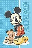 Disney Mickey Mouse Asciugamano 40x 60cm, Asciugamano per Bambini Asciugamano ospite