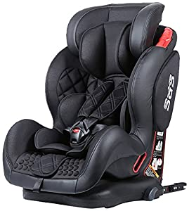 sillas de coche grupo 123: Star Ibaby BQ-06, Silla de coche grupo 1/2/3 Isofix, negro