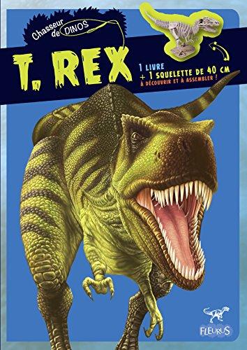 T.Rex : 1 livre + 1 squelette de 40 cm à assembler par Claire Bampton