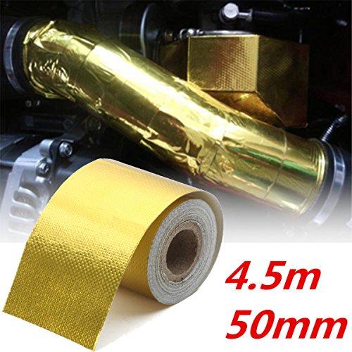 king-do-way-vetro-di-protezione-isolante-in-fibra-di-nastro-riflettente-oro-5cmx45m