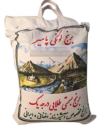 Pamir Lawangi Basmatireis Langkorniger Reis aus Pakistan 10 KG Indian basmatirice