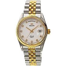 """Orient """"Oyster Classic automático Sapphire 2tono oro reloj ev0j002W"""