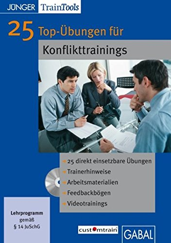 25 Top-Übungen für Konflikttrainings.