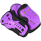 SFR Essentials Triple Pad Set AC760 - Purple - Age 8/11 - M