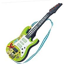 Gettesy 4 Cuerdas Guitarra Electrica Niños Guitarra Bebe Juguete para Niños