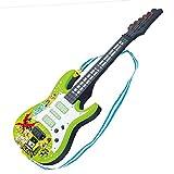YAKOK 4 Saiten e Gitarre Mini Kindergitarre Spielzeuggitarre Musik Instrumente Spielzeug für Kinder 3-4 Jahre Mädchen und Jungen (Grün)