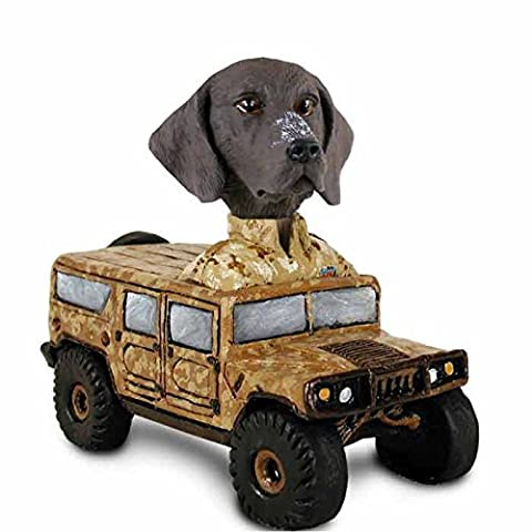German Short Haired Pointer Hummer Doogie Collectable Figurine by