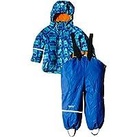 CareTec Kids Rain-Clothing Set, Blau (Sea Blue 706), 98