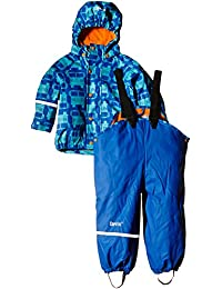 CareTec Kinder Wasserdichte Regenlatzhose und -Jacke im Set (Verschiedene Farben)