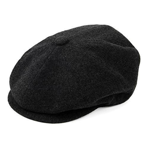 Village Hats Casquette Gavroche Galvin noir BAILEY - LARGE