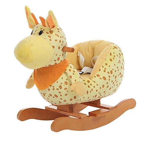 Lazy sofa Schaukelpferd Einfache Montage Massivholz Schaukelstuhl Von 1-5 Jahre Alt Baby Kind Spielzeug Geschenk LI Jing Shop
