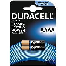 Duracell Batteria Specialistica Alcalina AAAA, confezione da 2
