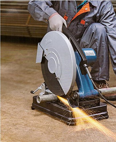 Gowe elettrico sega 1800 W Cut Off Saw 355 mm Metal Cutting