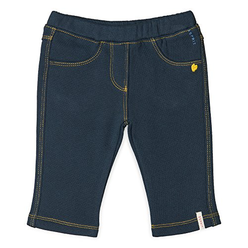 ESPRIT KIDS Baby - Mädchen Hose for Girl, Blau (Deep Indigo 491), 86