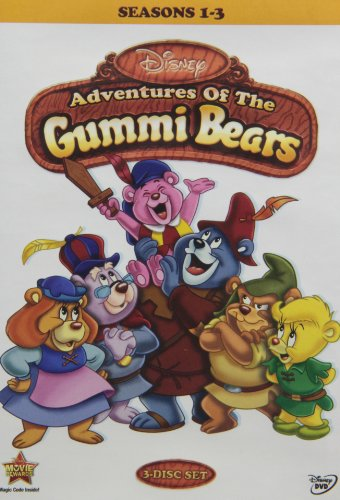 Adventures Of The Gummi Bears - Seasons 1-3 [RC 1]