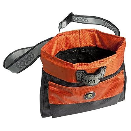 EQDOG 800-140 Click'n Treat Leckerli Tasche, orange