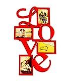 Deep Love Collage Frame with 4 photos (R...