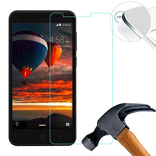 Lusee® 2 X Pack Panzerglasfolie Tempered Glass Hartglas Schutzfolie für Archos 55 Cobalt Plus 5.5 Zoll Premium Screen Folie Protector Ultra Hart Bildschirmschutz 0,3mm 9H Clear 2.5D
