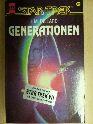 Generationen. Star Trek. par J. M. Dillard