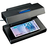 García de Pou 194.14 Eurodetector Billetes Falsos / Ac220-240 V, 18.5 x 12 cm, Negro