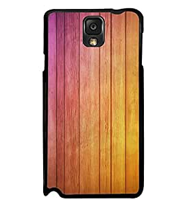FUSON Wooden Wall Background Wood Designer Back Case Cover for Samsung Galaxy Note 3 :: Samsung Galaxy Note Iii :: Samsung Galaxy Note 3 N9002 :: Samsung Galaxy Note 3 N9000 N9005