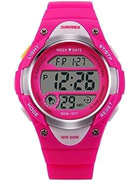 Mode Kinderuhren/Wasserdichte digitale Sportuhr/Jungen Uhren-A