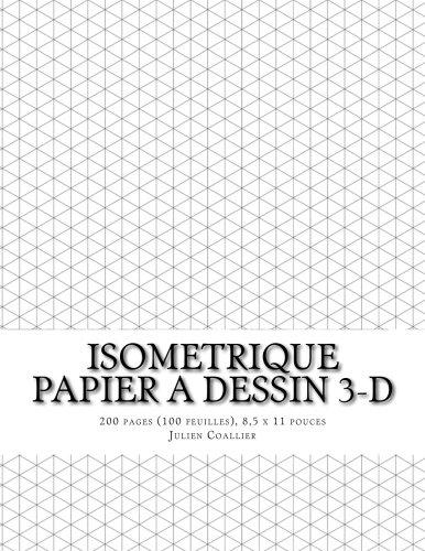 Préférence Amazon.fr - Isometrique - Papier a Dessin 3-D: 200 pages (100  OB35