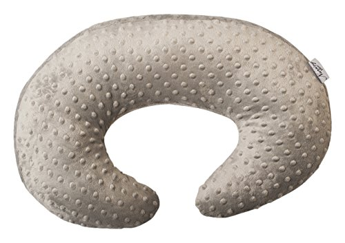 Nursing Pillow Gray Breastfeeding Maternity Twin Support Pillow by Nursing Pillow
