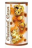 Gourmet Popcorn zum Selber-Backen, exotisches Popcorn, mit arabischem Ras el Hanout und Kreuzkümmel, Raffinierte Geschenk-Idee, frisch-duftend, auch als Party-Snack Oriental Corn von Feuer & Glas 274g