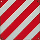 Ist S.R.L.- Pubblicentro Warntafel Italien Aluminium Reflektierend 500x500mm Rot-Weiß