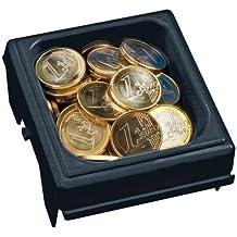 Modulares Einzelsteck-System Kasseneinsatz Einteilung Euro-M/ünzen Rottner Geldz/ählbrett 2 Cent schwarz Gliederung