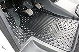 MERCEDES BENZ Original Pièce 2 pièces Tapis De Sol en caoutchouc gris anthracite W 639 AN DE CONSTRUCTION 2003-2010 VIANO et VITO Conduite à gauche