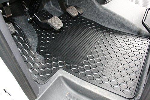 Mercedes-Benz Originale 5 Pezzi Tappetini in Gomma Tappetini Nero W 639 Viano/Vito Anno Costruzione 10/2003-09/2010 LHD Completo Anteriore e Posteriore