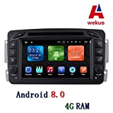 Wekuo 4G RAM Android 8.0auto DVD per Mercedes Benz W209W203W168m ml W163W463Viano W639Vito Vaneo autoradio GPS stereo Headunit